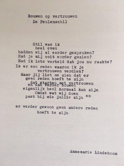 gedicht peuleschil