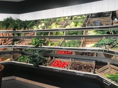 vergeten groenten in het schap