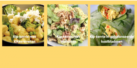 Lokale en plantaardige alternatieven voor de kip in kip-kerrie