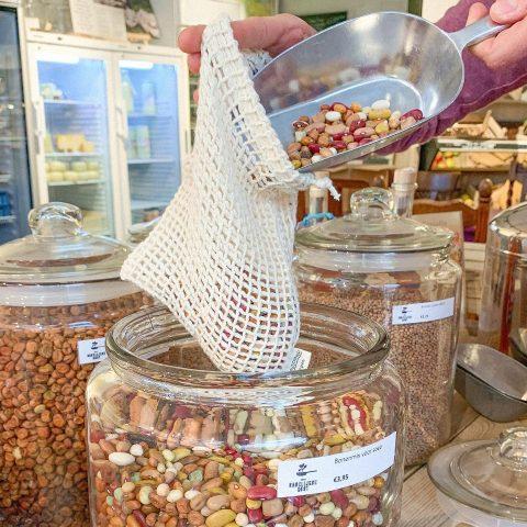 Mefrouws eco-shop in shop