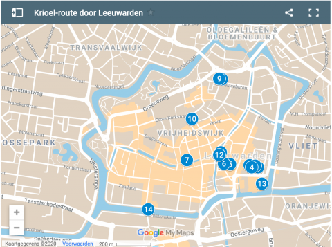 De Krioel-route door Leeuwarden aangeboden door Jouw Dagelijkse Kost