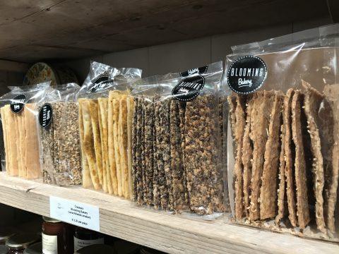 Crackers van Blooming Bakery